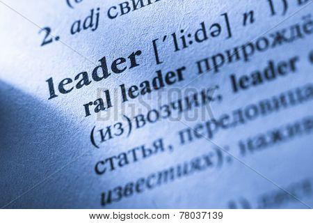 Word Leader Translation