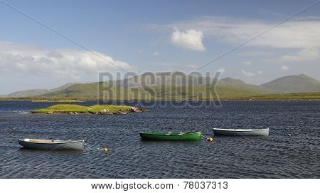 Rowing Boats On Loch Bi