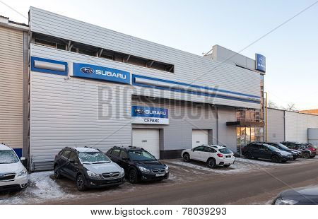 Office Of Official Dealer Subaru