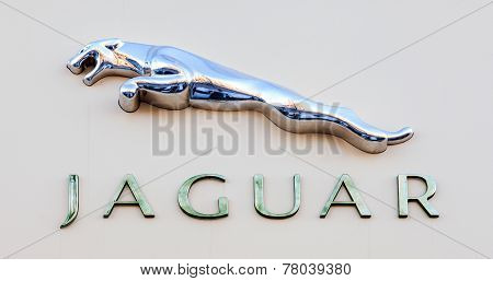 Jaguar Dealership Sign