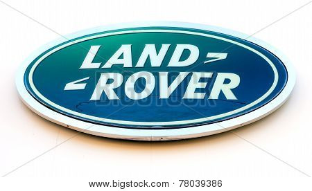 Land Rover Dealership Sign