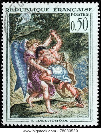 Delacroix Stamp