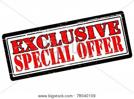 Exclusive Special Offer