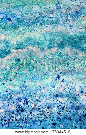 Abstract Blue Watercolor Textures 8