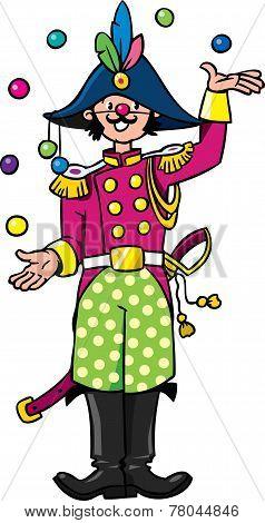 Funy General-juggler