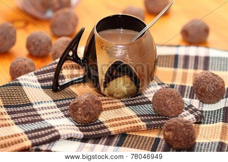 cup with cocoa