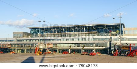 Aircraft In Hamburg At Terminal 2