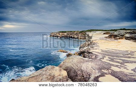 The Sea Caves At Cape Solander