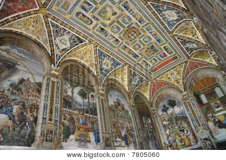 Piccolomini Library Ceiling
