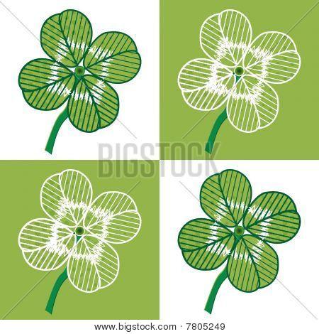Four leaf seamless