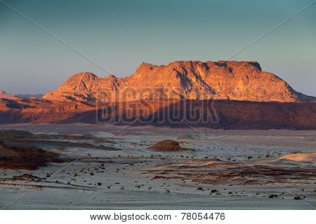 Rocky desert in Sinai, Egypt