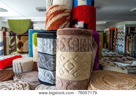 Collection Of Different Traditional Rugs