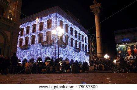Repubblica Square Night Life, Florence