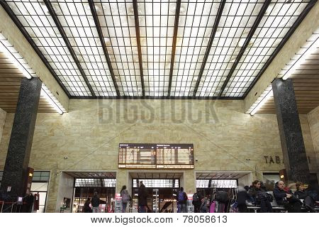 Florence Train Station Of Santa Maria Novella, Italy