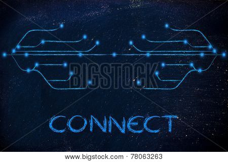Design Of Optical Fiber, Connectivity Through The Web