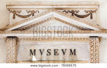 Italian Museum Entrance
