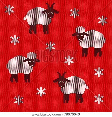 Knitted Holiday Seamless