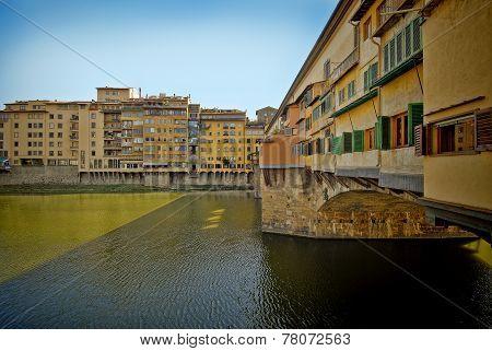 Ponte Vecchio Bridge, Florence Italy