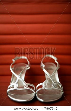Wedding Shoes Silver