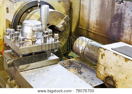 Main Spindle Of Metal Lathe Machine