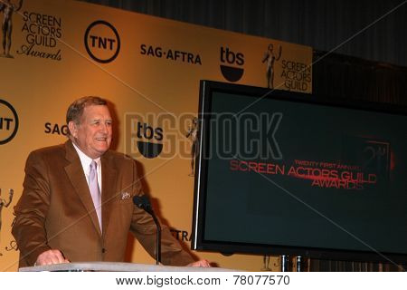 LOS ANGELES - DEC 10:  Ken Howard at the 21st Annual Screen Actors Guild Awards Nominations Announcement at the Pacific Design Center on December 10, 2014 in West Hollywood, CA