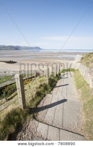 Footpath To Beach