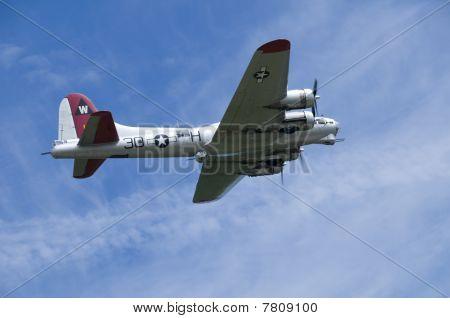 USAF B17 Flying Fortress Bomber