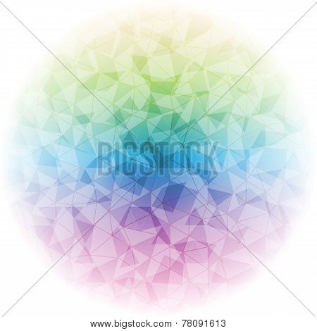 Design Magic Ball On Light Background