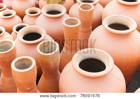 Terracotta Pots, Indian Handicrafts Fair At Kolkata