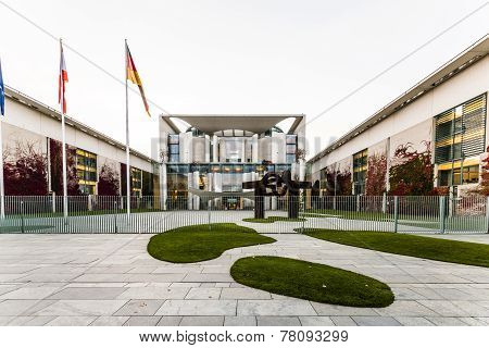 German Chancellery (bundeskanzleramt) Is A Federal Agency Serving The Executive Office Of The Chance