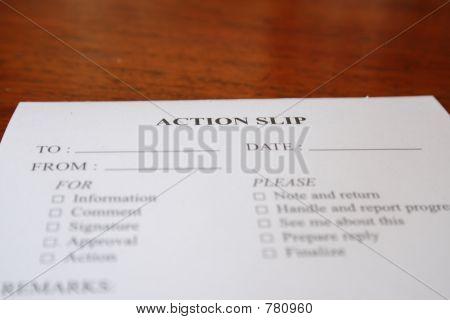 Action Slip #2