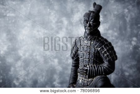 A terracotta soldier (reproduction)