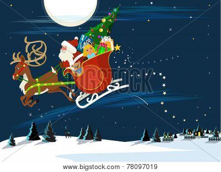 Holiday Christmas Night