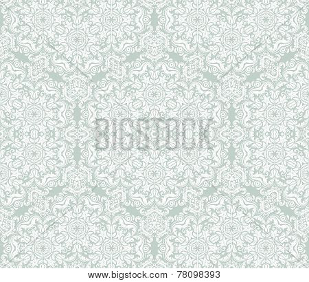 Orient Seamless Vector Pattern. Abstract Background