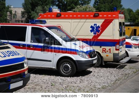 Ambulance Vehicle