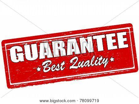 Guarantee Best Quality