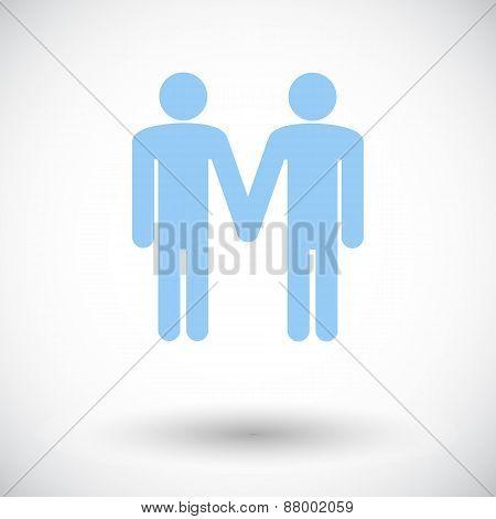 Gay sign.