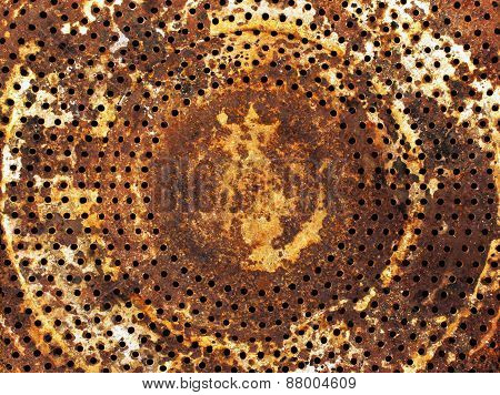Industrial Rusty Metal Background
