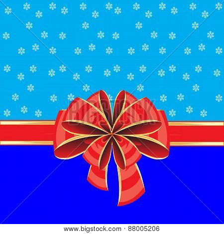 Colorful background with bow