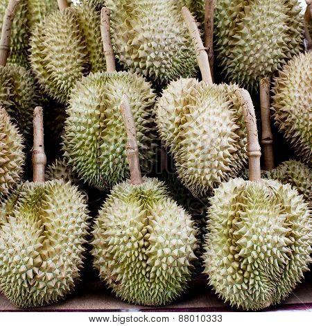 Durian In Thailand Market