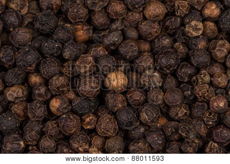 Black Peppercorn Background