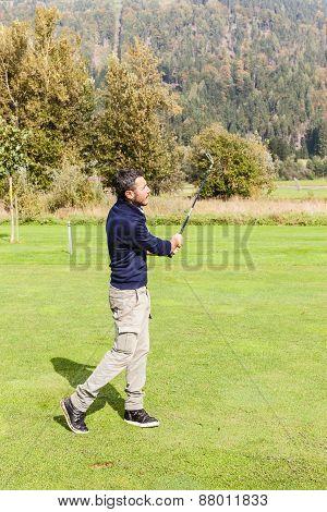 Sunny Golf Day