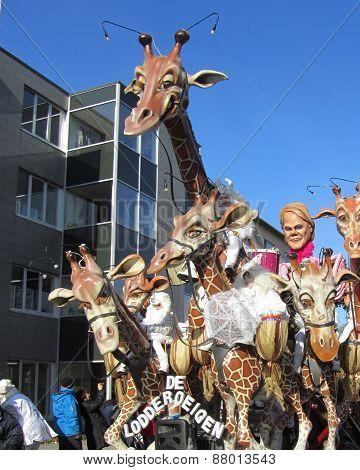 Aalst Carnival, Belgium, 2012