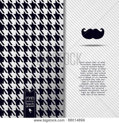 Vector Masculine Background Illustration
