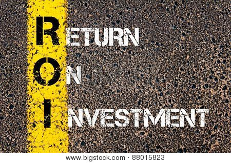 Acronym Roi - Return On Investment