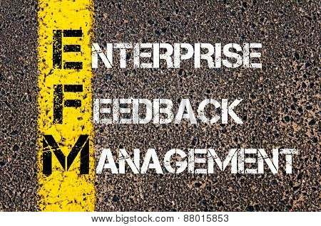 Acronym Efm - Enterprise Feedback Management