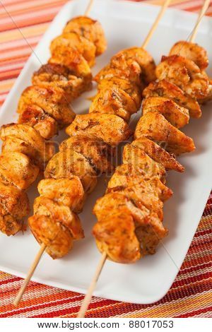 Moroccan Chicken Skewer