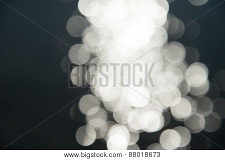 Blur Bokeh Of White Shade