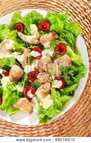 Chicken Salad With Cherries