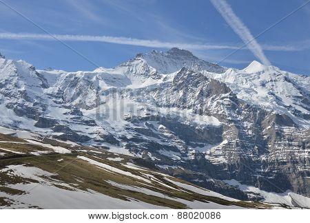 Jungfrau mountain Switzerland